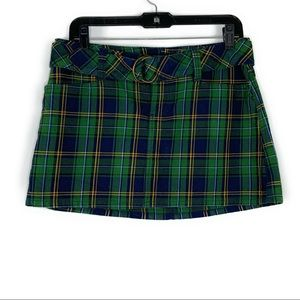 Abercrombie & Fitch Plaid Schoolgirl Mini Skirt